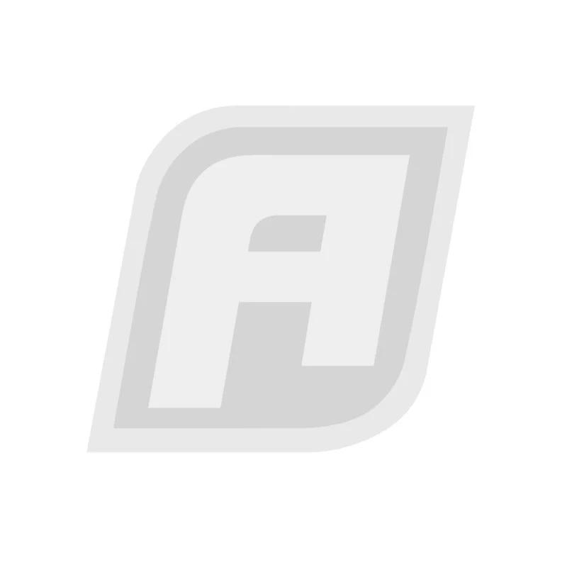 AF250-06-1M - BLACK BRAIDED TEFLON HOSE -6AN